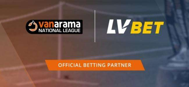 LVBET стала спонсором Vanarama National League